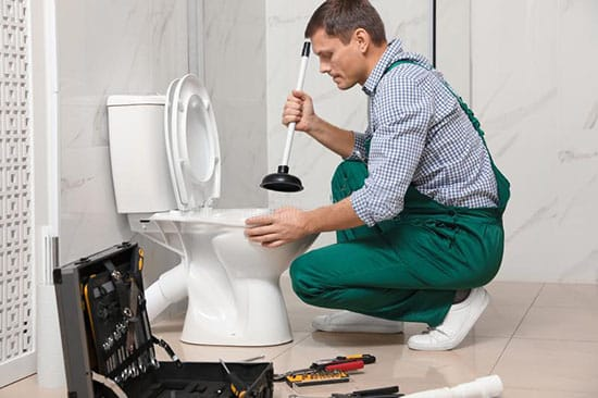 Odgušenje wc šolje