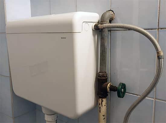 Zamena glavnog ventila za vodu